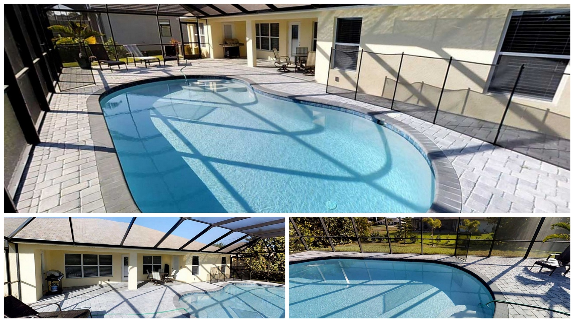 Ferienwohnung USA - Villa Bella Vista in Cape Coral Pool